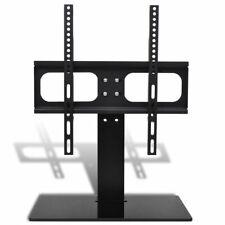 "vidaXL TV Bracket with Base 400x400mm 23""-55"" Mount LCD LED PLASMA Glass Stand"