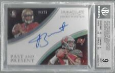 JAMEIS WINSTON 2015 IMMACULATE PAST AND PRESENT AUTO RC /25 BGS 9 w/ 10 AU POP 3