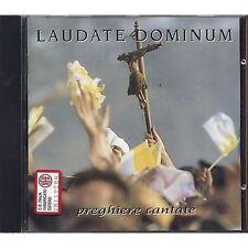 Laudate Dominum VINCENZO ZITELLO RICCARDO TESI CARLO FACCHINI CD 1995 USATO