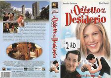 L'OGGETTO DEL MIO DESIDERIO (1998) vhs ex noleggio