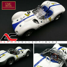CMC M-149 1:18 1960 MASERATI TIPO 61 BIRDCAGE #7 STIRLING MOSS SIGNED ED LE 500