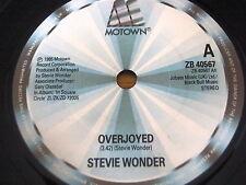 """STEVIE WONDER - OVERJOYED    7"""" VINYL"""