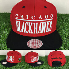 Mitchell and Ness Chicago Blackhawks NHL Top Shelf Snapbacks Caps Hats cap hat