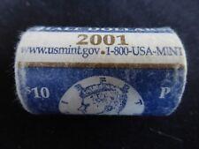 2001-P 50C Kennedy Half Dollar Mint Bu Roll - FREE SHIPPING!!!!!