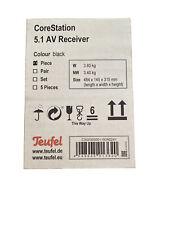 Teufel CoreStation 5.1-Kanal AV-Receiver 360W CLASS D Verstärker, HDMI Bluetooth