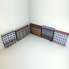 More details for 1:220 z gauge card model railway town pack of 5x lineside buildings (zz-p-t-009)