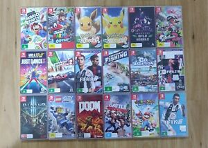 Nintendo Switch Games - Preowned (Assorted)