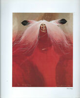 "Frank Howell, ""FIRE SONGS""  - Southwest Art Print, 10.5 x 10.5"