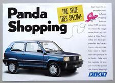 V15110 FIAT PANDA SHOPPING - FICHE - 07/89 - A4 - FR FR