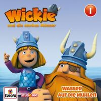 WICKIE - 01/WASSER AUF DIE MÜHLEN (CGI)   CD NEU