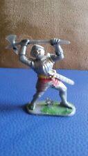 SOLDAT MOYEN-AGE miniature 1/32 Vintage W.GERMANY plastique