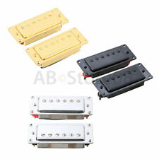 Mini Humbucker Pickup Set For Gibson Les Paul LP Guitar