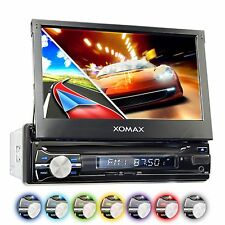 AUTORADIO MIT NAVIGATION NAVI GPS TOUCHSCREEN BILDSCHIRM BLUETOOTH USB SD 1DIN