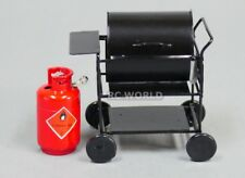RC 1/10 Scale Accessories METAL BARBECUE BBQ GRILL Outdoor Camping W/ PROPANE r