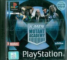 X-Men: Mutant Academy Sony Playstation 1 PS1 11+ Fighting Game
