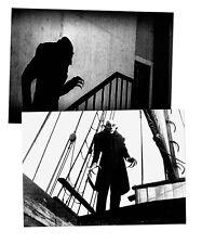 Nosferatu + + 2-POSTER-Set, din-a2 + + DRACULA, VAMPIRO, Vlad Tepes, Frankenstein