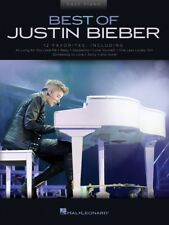Best of Justin Bieber Sheet Music Easy Piano Book NEW 000248635