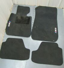 2011 BMW M3 FLOOR MATS VELOUR BLACK CONVERTIBLE E93 2008-2013 OEM