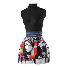 Lulu Trendy Waist Apron with Tulle Underskirt Half Apron