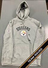 Nike Pittsburgh Steelers Team Issued Player Sideline Sweatshirt Hoodie