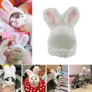 Cat Bunny Cute Rabbit Ears Hat Cap Pet Cosplay Costumes for Cat Dogs Party lskn