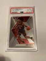 2019-20 Panini Mosaic Coby White Rookie Card RC #211 PSA 8 NM-MT Bulls