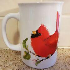Valerie Pfeiffer Cardinal Coffee Mug Cup Canadian Birds Capilano Realistic