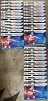 2019-20 CREDENTIALS 42x RED WINGS ROOKIE SCIENCE LOT ZADINA HIROSE KUFFNER SP