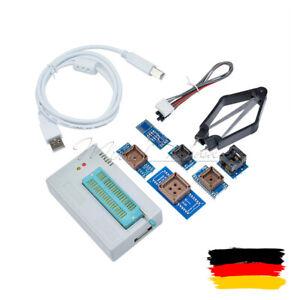 TL866II Plus Programmer 7 Adapters Socket R / TL866CS Extractor EPROM FLASH BIOS