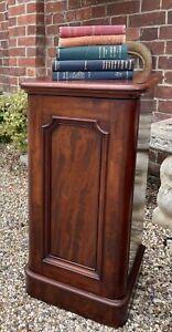 Traditional Victorian Mahogany Pot Cupboard / Bedside Cabinet