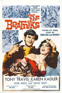 The Beatniks 1960 Crime, Exploitation DVD