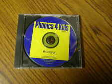 1091) Phonics 4 Kids 991 Cosmi Corp Sj013000G Cdr-618-D1 Cd-Rom Win
