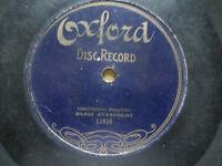 Banjo Evangelist Oxford Disc Record 11816 rare 78 rpm