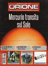 Orione 2016 288 Maggio#Mercurio transita sul Sole,kkk