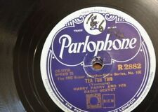 78 rpm HARRY PARRY & RADIO SEXTET tea for two / a hundred years from today