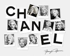 Haute Couture Marilyn Monroe   Chanel  24'  Large CANVAS Art  Print