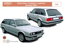 1/18 Norev BMW 325i Touring 1991 Silver Neuf Précommande Janvier 2021