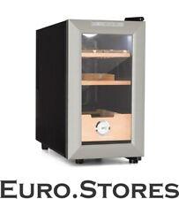 Klarstein Humidor cabinet hygrometer 23L cigar storage cooler humidifier LED NEW