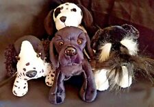 Webkinz PLUSH ONLY LOT of 4 PRECIOUS DOGGIES - JUST the PLUSH!!!!!!!
