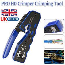 More details for new crimping tool crimper for rj45 ez pass through cat 5 5e 6 7 connector lan