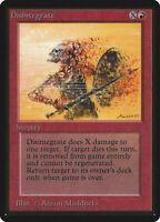 Disintegrate  - BETA Edition  - Old School - MTG Magic The Gathering