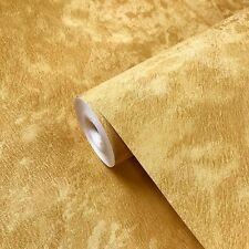 Wallpaper gold metallic Textured Plain Modern gold wall coverings faux wool roll
