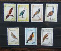 Lesotho 1971 Birds set MNH