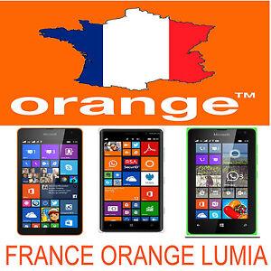 FRANCE ORANGE LUMIA 520 510 610 620 710 820 920 925 1020 1320 1520 UNLOCK CODE