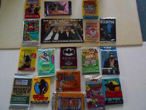 5 UNOPENED ENTERNTERNAMENT TRADING CARD PACKS!!!