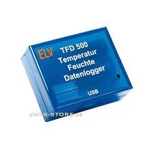 TFD500 Temperatur Luftfeuchte Feuchte Datenlogger Klimadaten Thermometer Logger