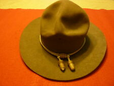 WW II US ARMY OFFICER Campaign hat ( Stetson brand )