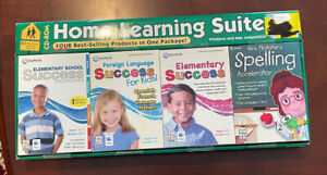 Home Learning Suite Educational Software Windows Mac Compatible CD ROM New