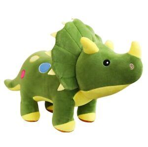 Dinosaure peluche tricératops stégosaure  doux beau 60cm top cadeau anniversaire