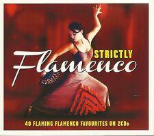 STRICTLY FLAMENCO 40 FLAMING FLAMENCO FAVOURITES - 2 CD BOX SET